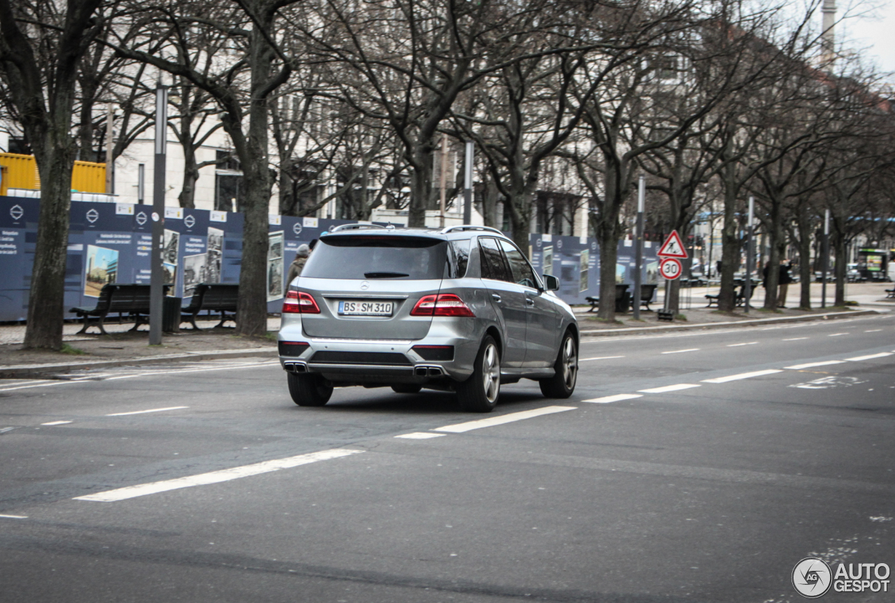 Mercedes-Benz ML 63 AMG W166 6