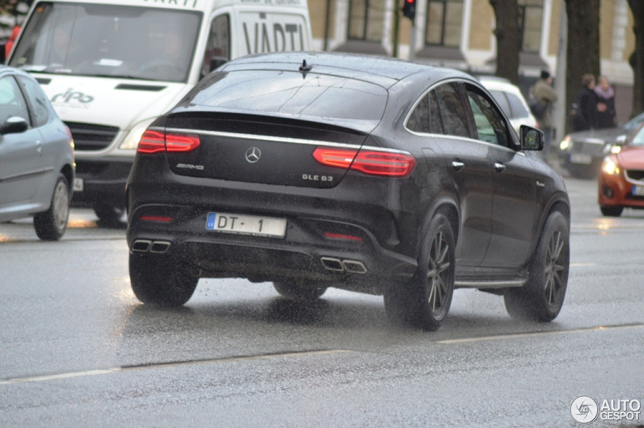 mercedes amg gle 63 coupe 3 februari 2016 autogespot. Black Bedroom Furniture Sets. Home Design Ideas