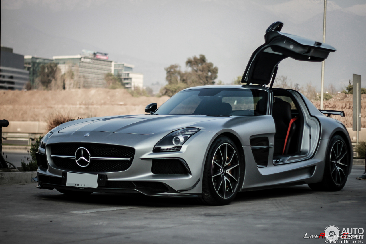Mercedes Benz Sls Amg Black Series 3 February 2016