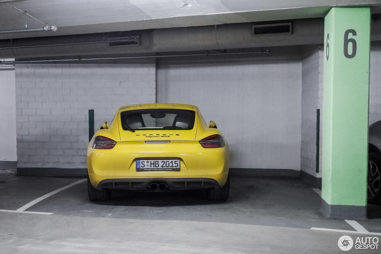 Porsche 981 Cayman GTS 3