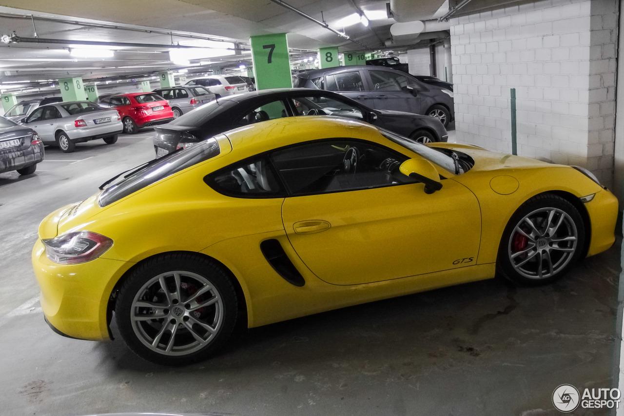 Porsche 981 Cayman GTS 5