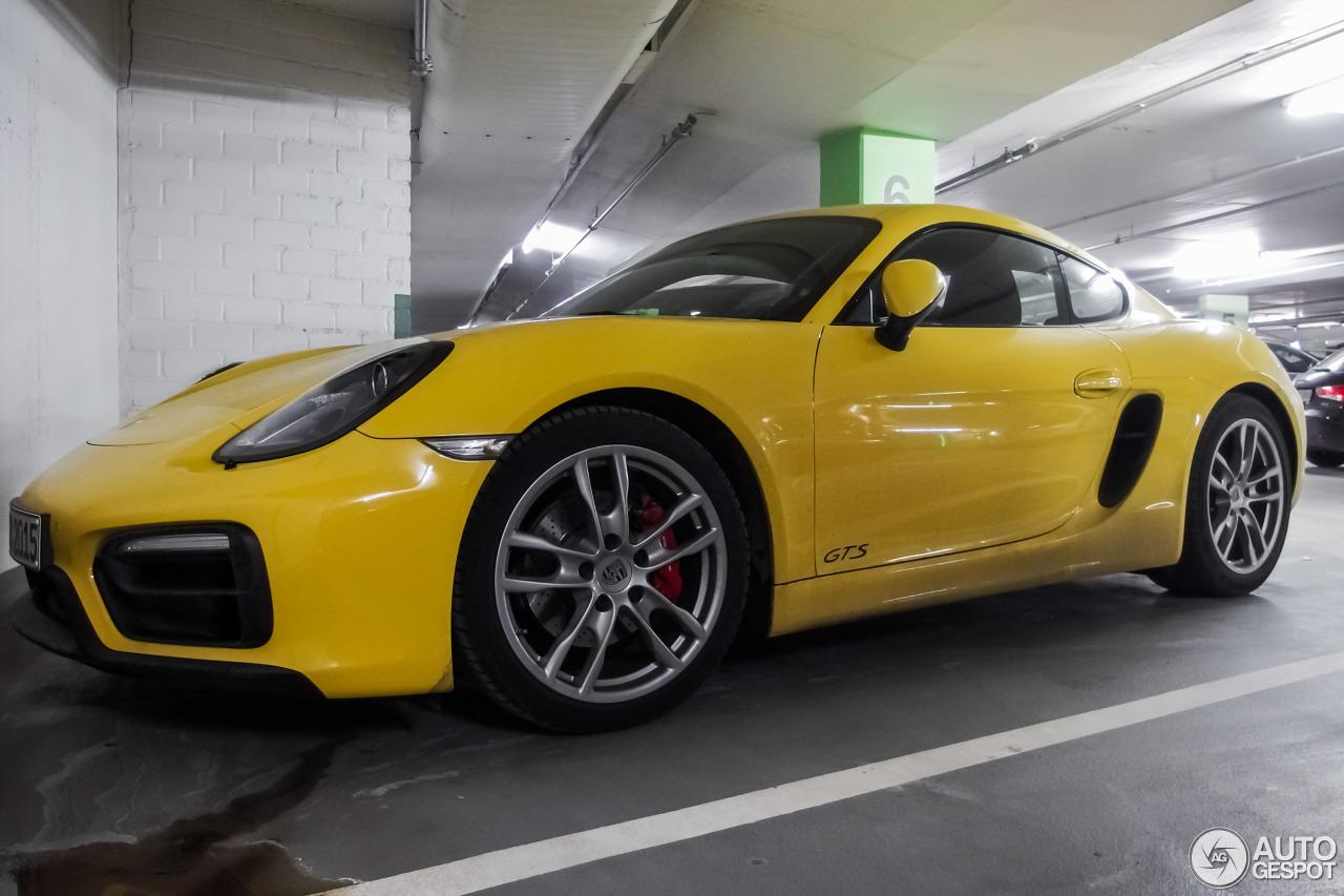 Porsche 981 Cayman GTS 7
