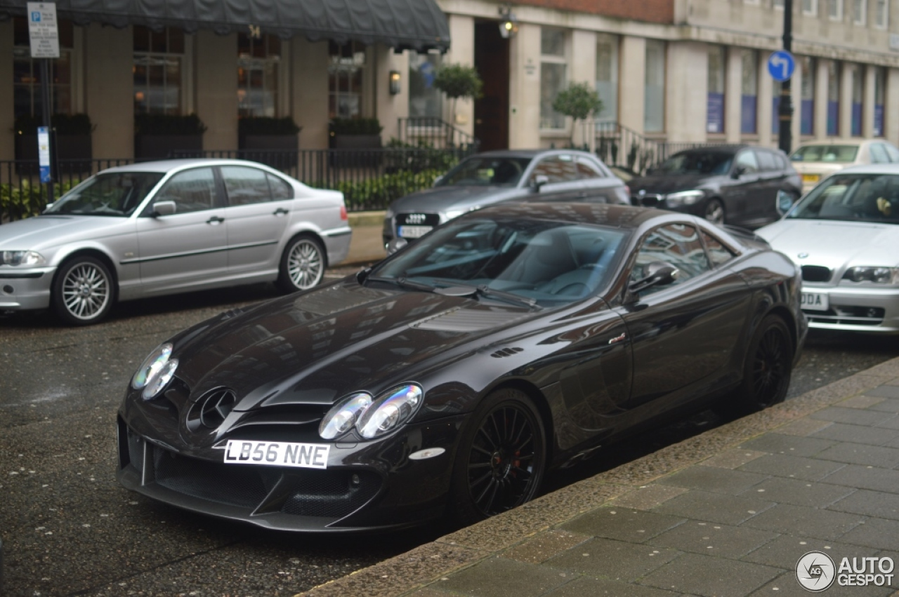 Mercedes benz slr mclaren edition 4 february 2016 for Mercedes benz slr