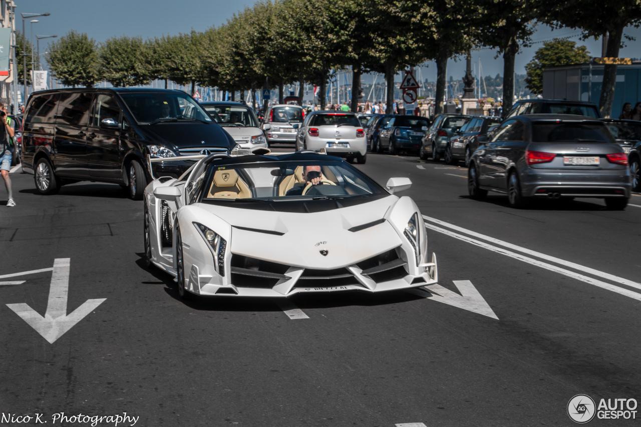 Lamborghini Veneno Roadster 5 February 2016 Autogespot