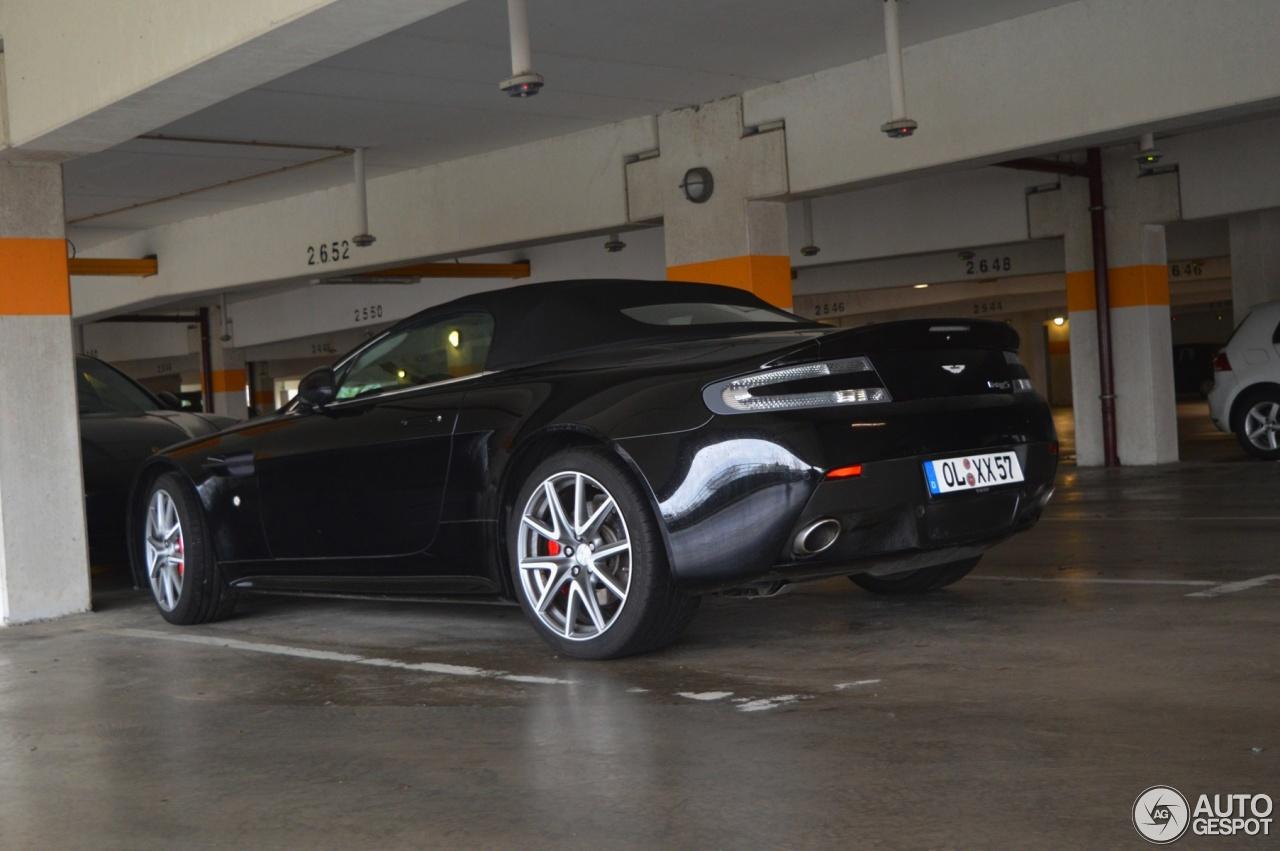Aston Martin V8 Vantage S Roadster 1