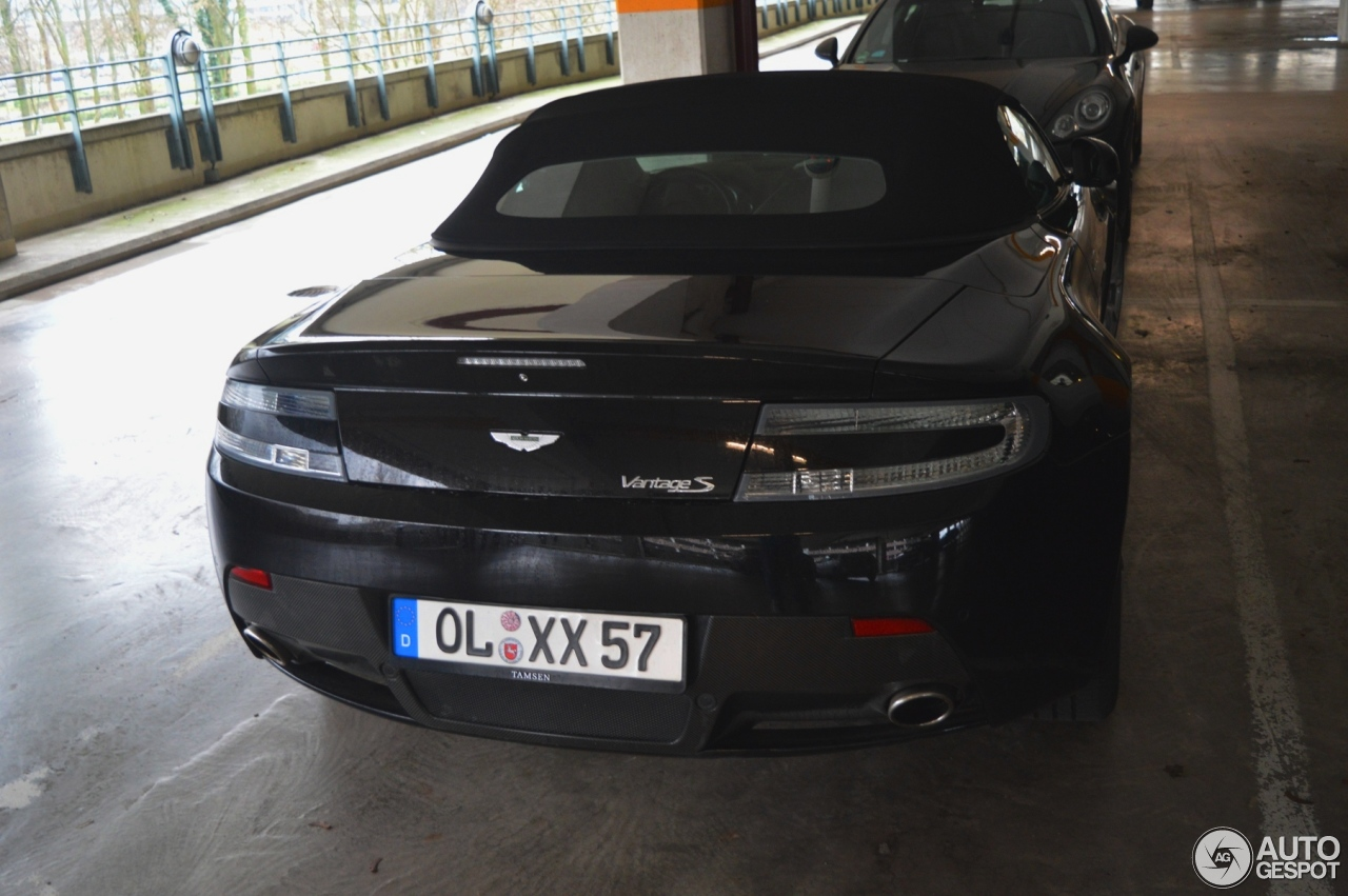 Aston Martin V8 Vantage S Roadster 7
