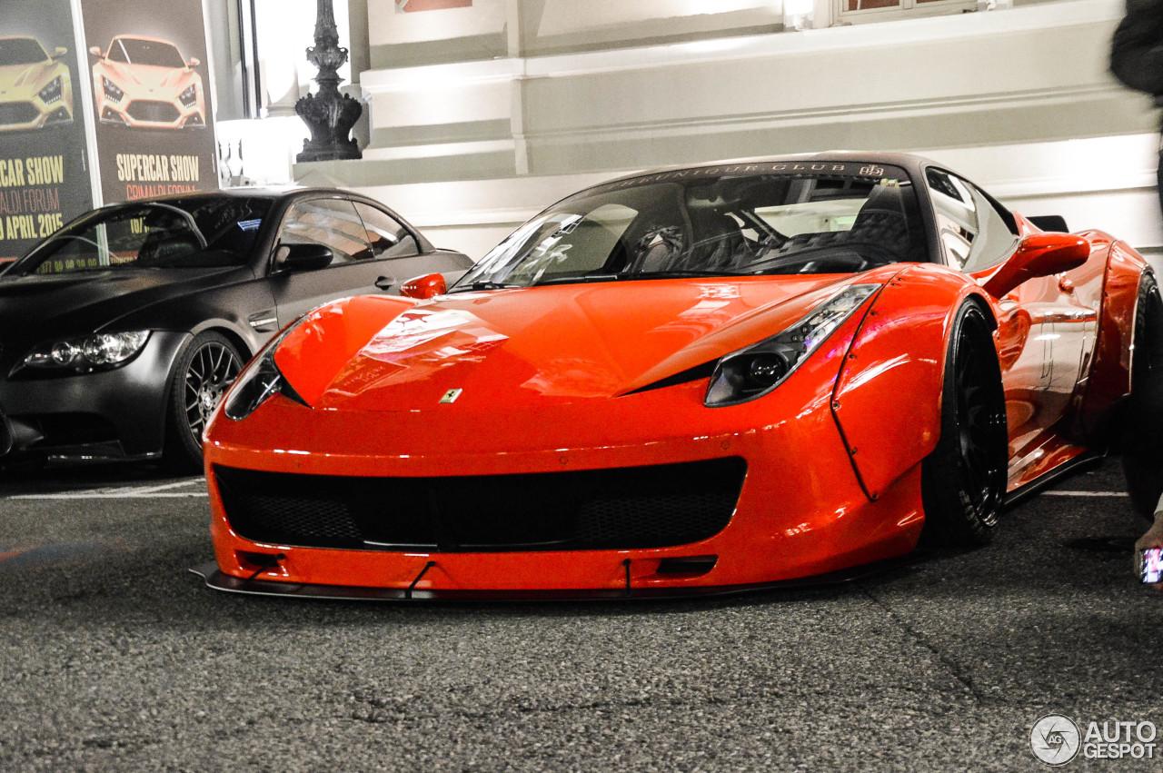 Ferrari 458 Italia Liberty Walk Widebody 6 February 2016 Autogespot
