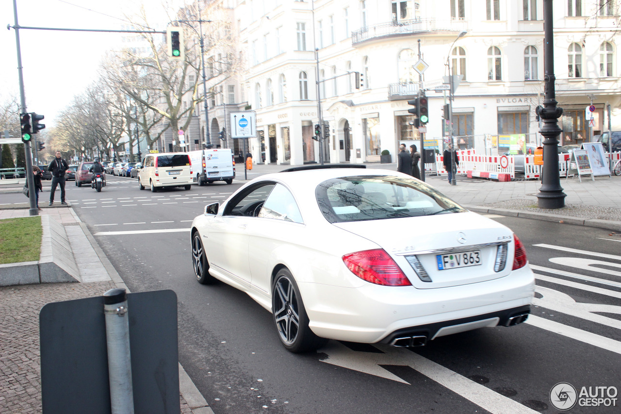 Mercedes-Benz CL 63 AMG C216 2011 2