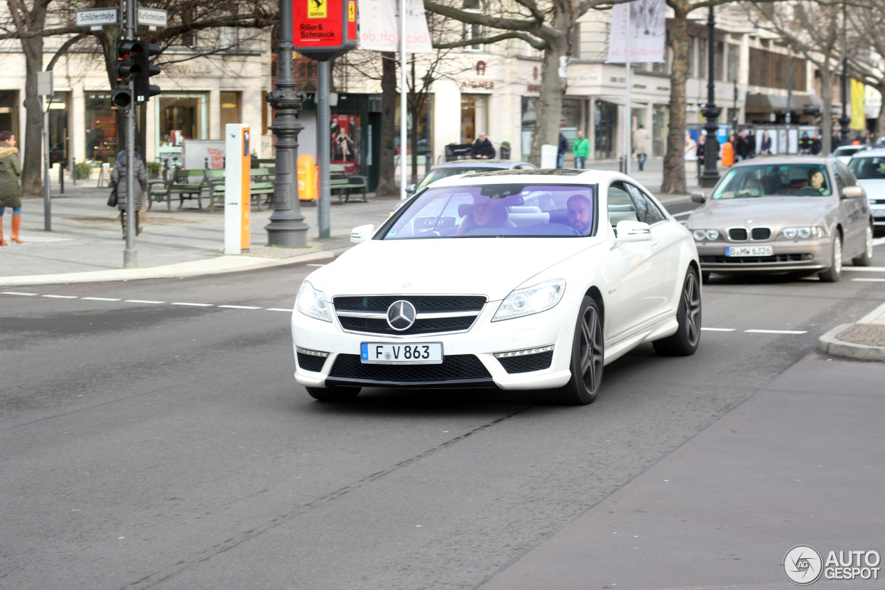 Mercedes-Benz CL 63 AMG C216 2011 6