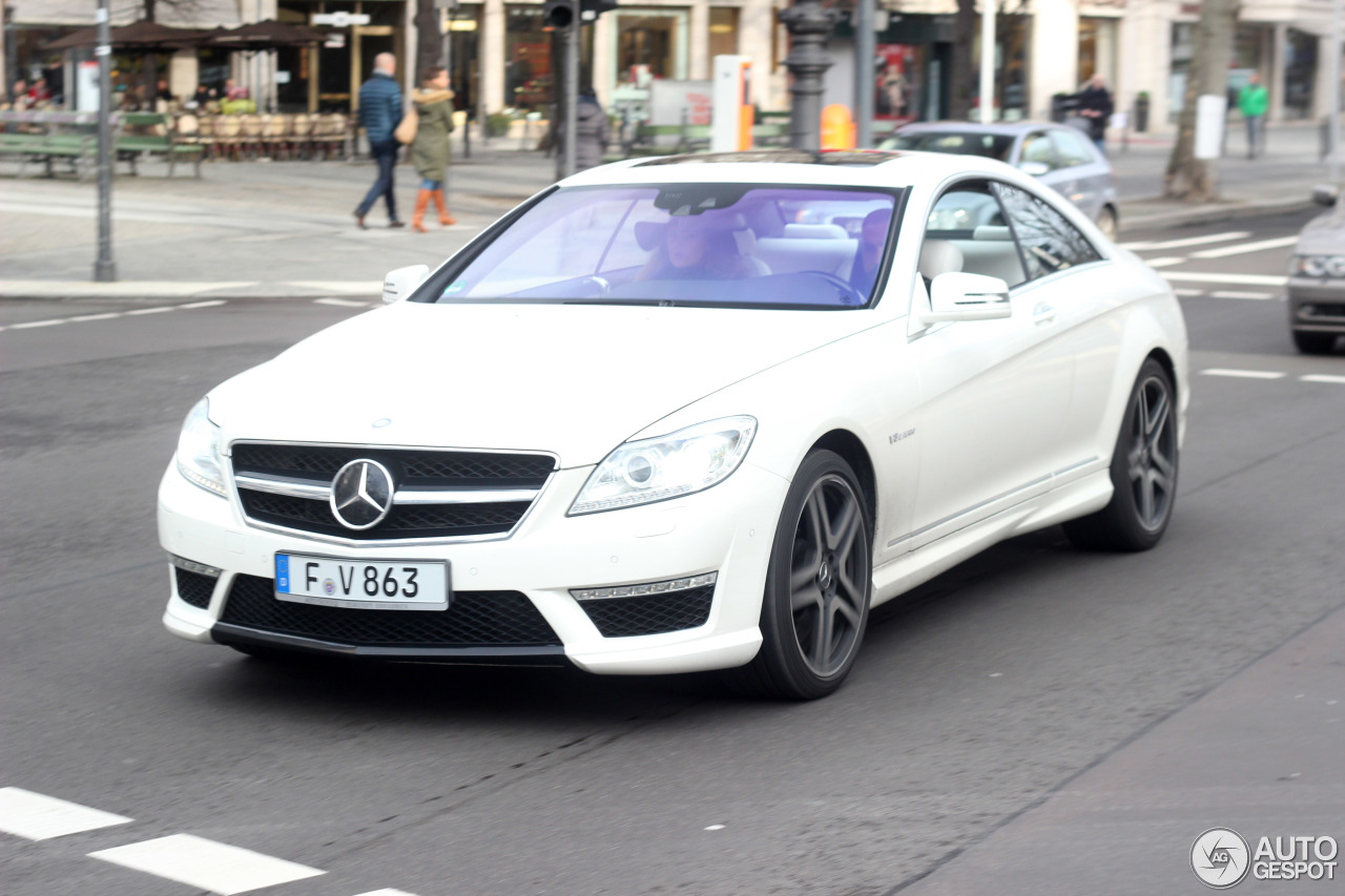 Mercedes-Benz CL 63 AMG C216 2011 7