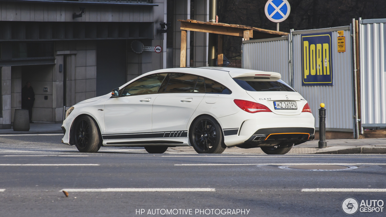 mercedes benz cla 45 amg shooting brake orangeart edition 6 february 2016 autogespot. Black Bedroom Furniture Sets. Home Design Ideas