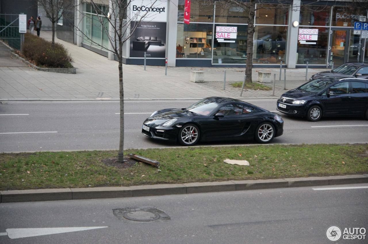Porsche 981 Cayman S 2