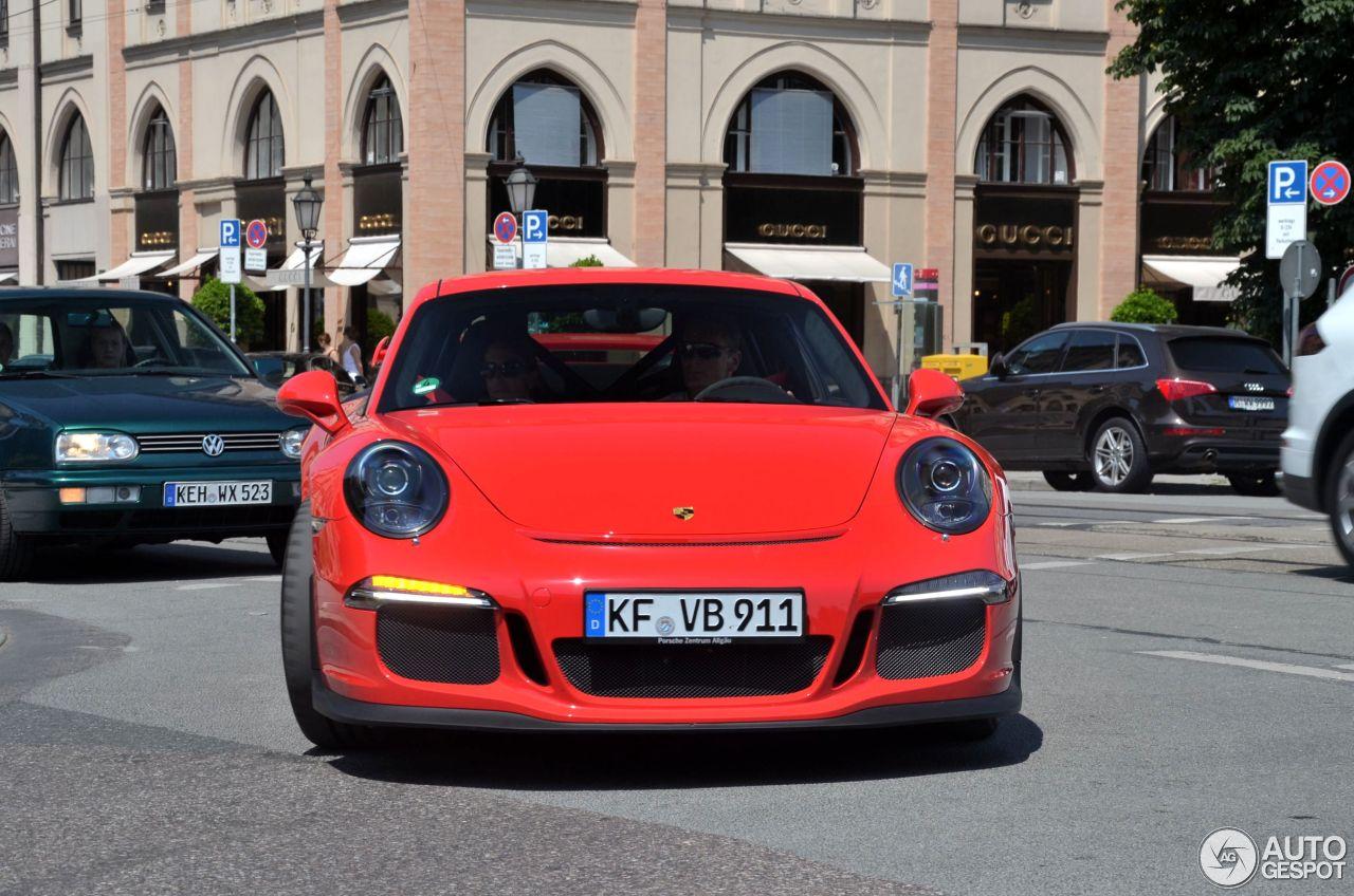 Porsche 991 GT3 3