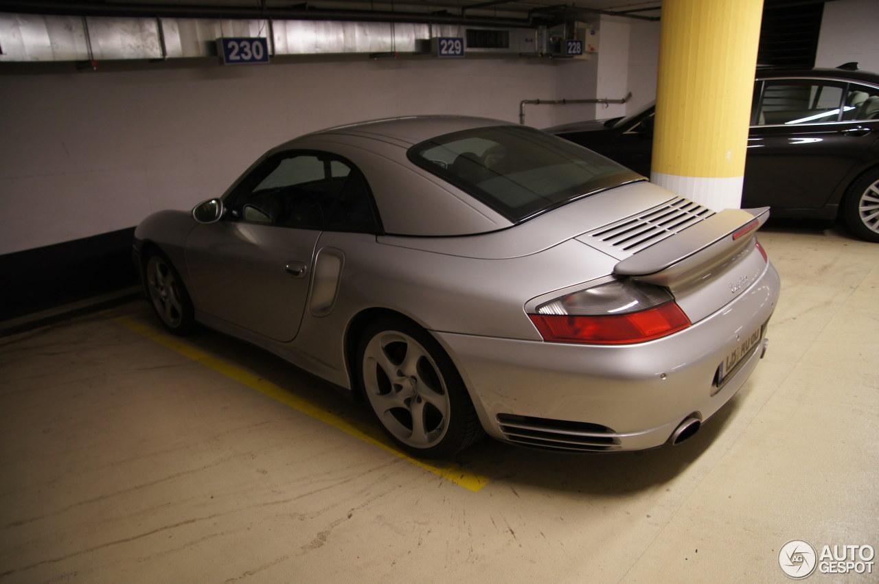 Porsche 996 Turbo Cabriolet 2