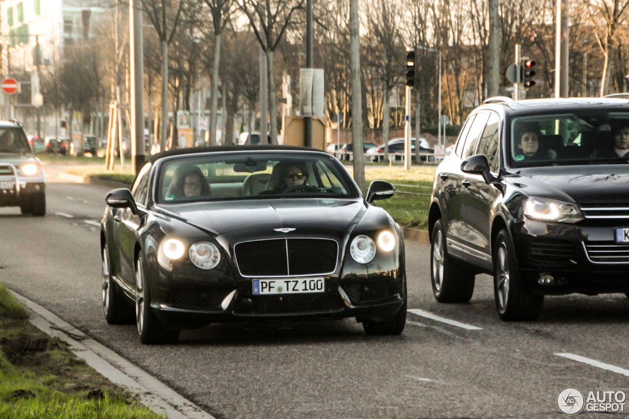 Bentley Continental GTC V8 1