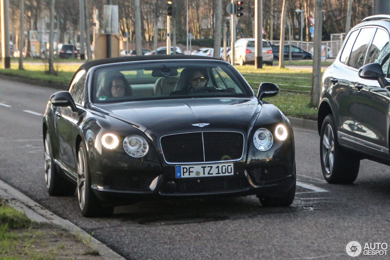 Bentley Continental GTC V8 2