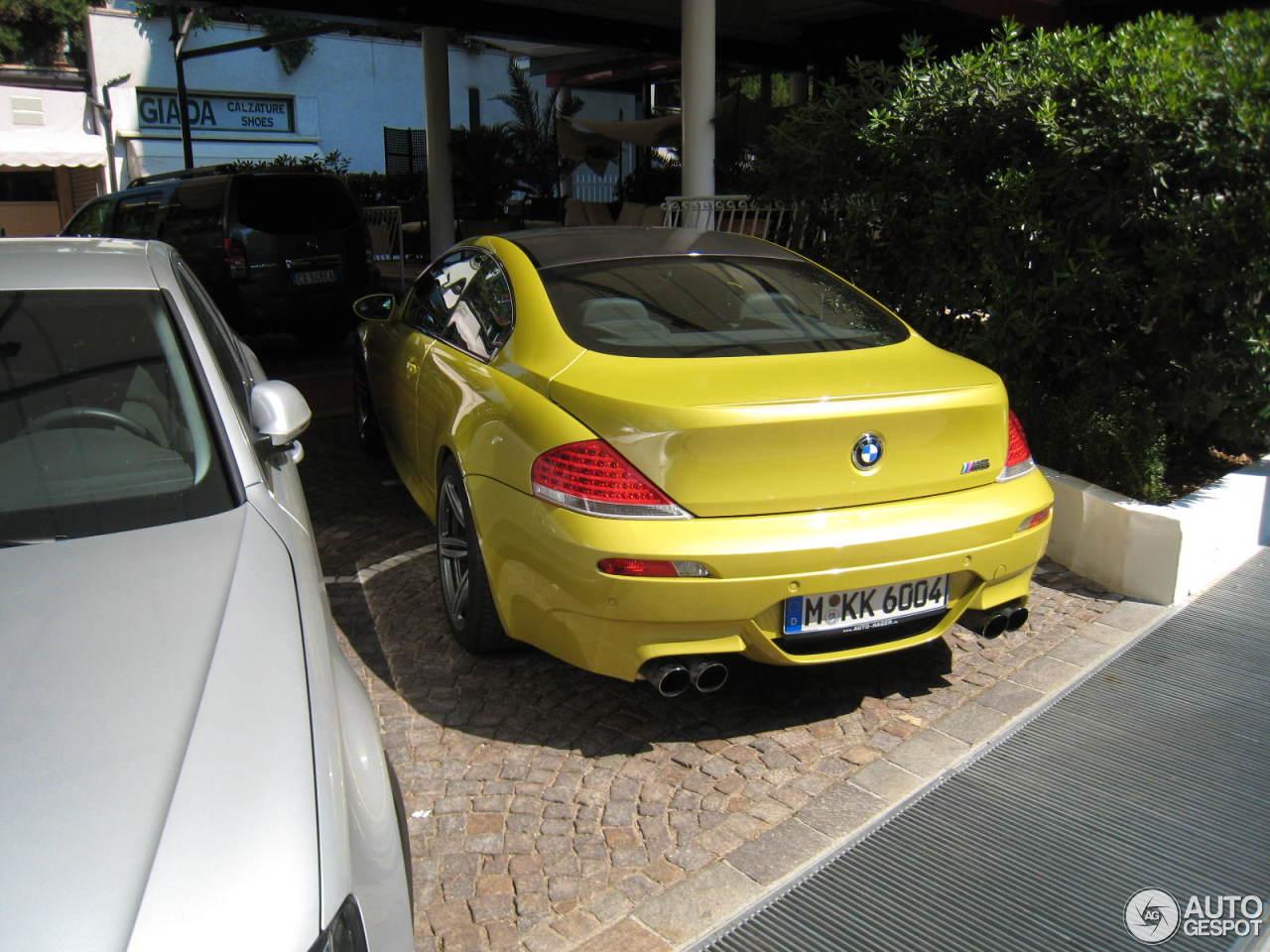 BMW M6 E63 3