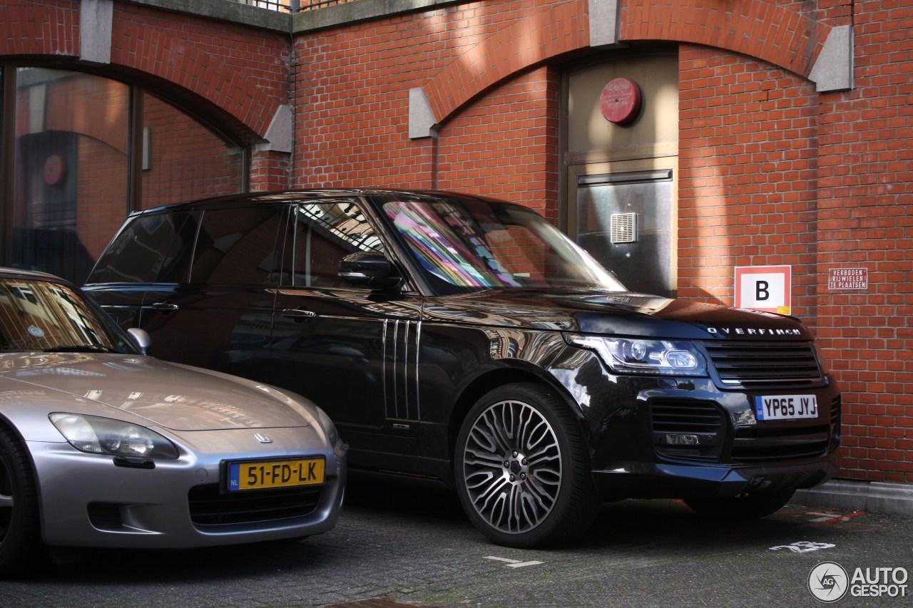 Range Rover Matte Black >> Land Rover Overfinch Range Rover L405 - 7 February 2016 ...