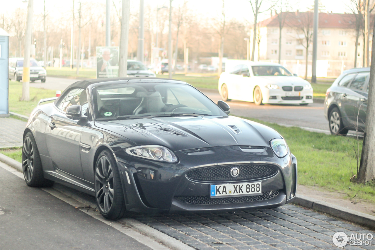 Jaguar XKR-S Convertible 2012 3