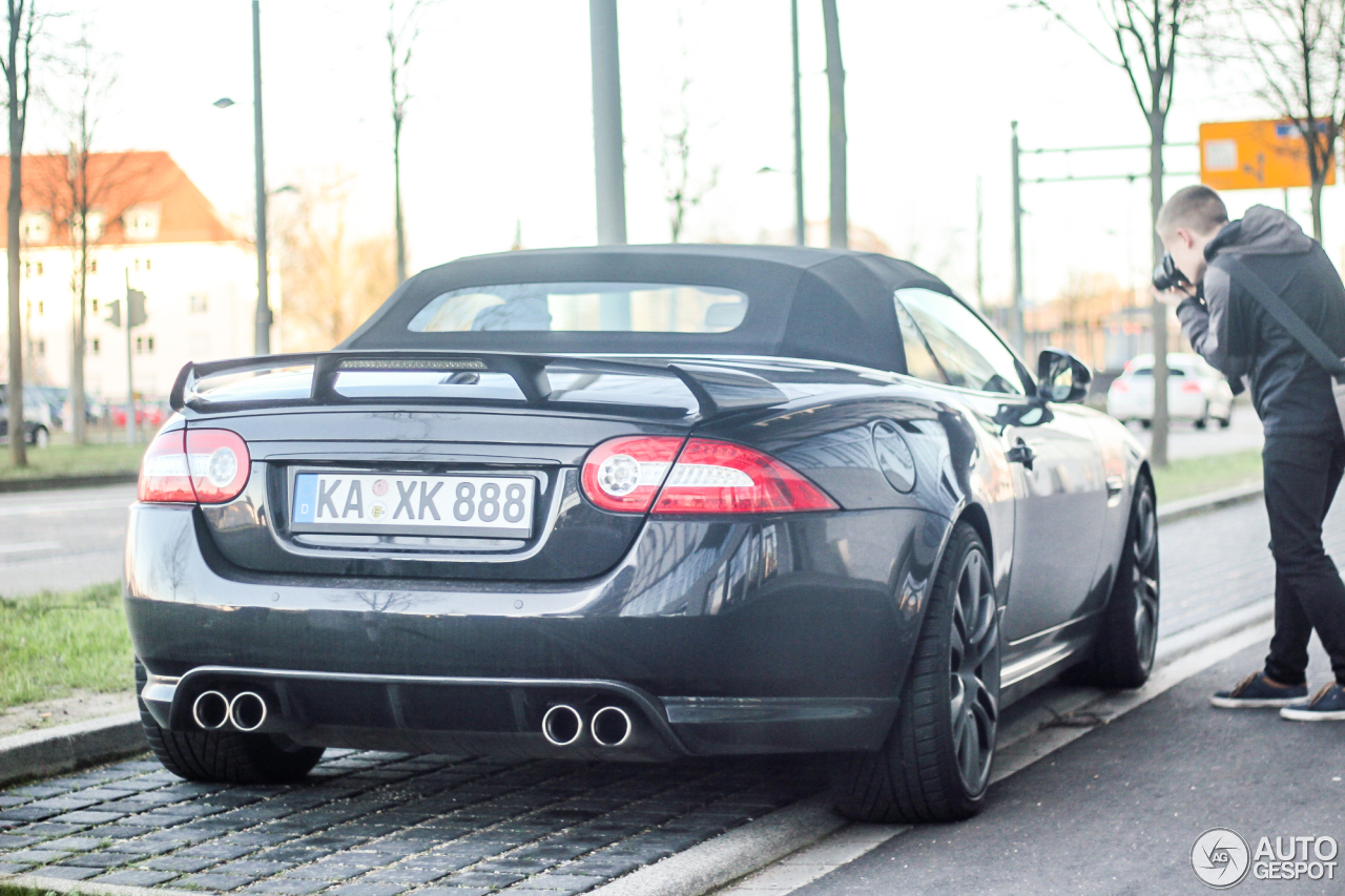 Jaguar XKR-S Convertible 2012 4