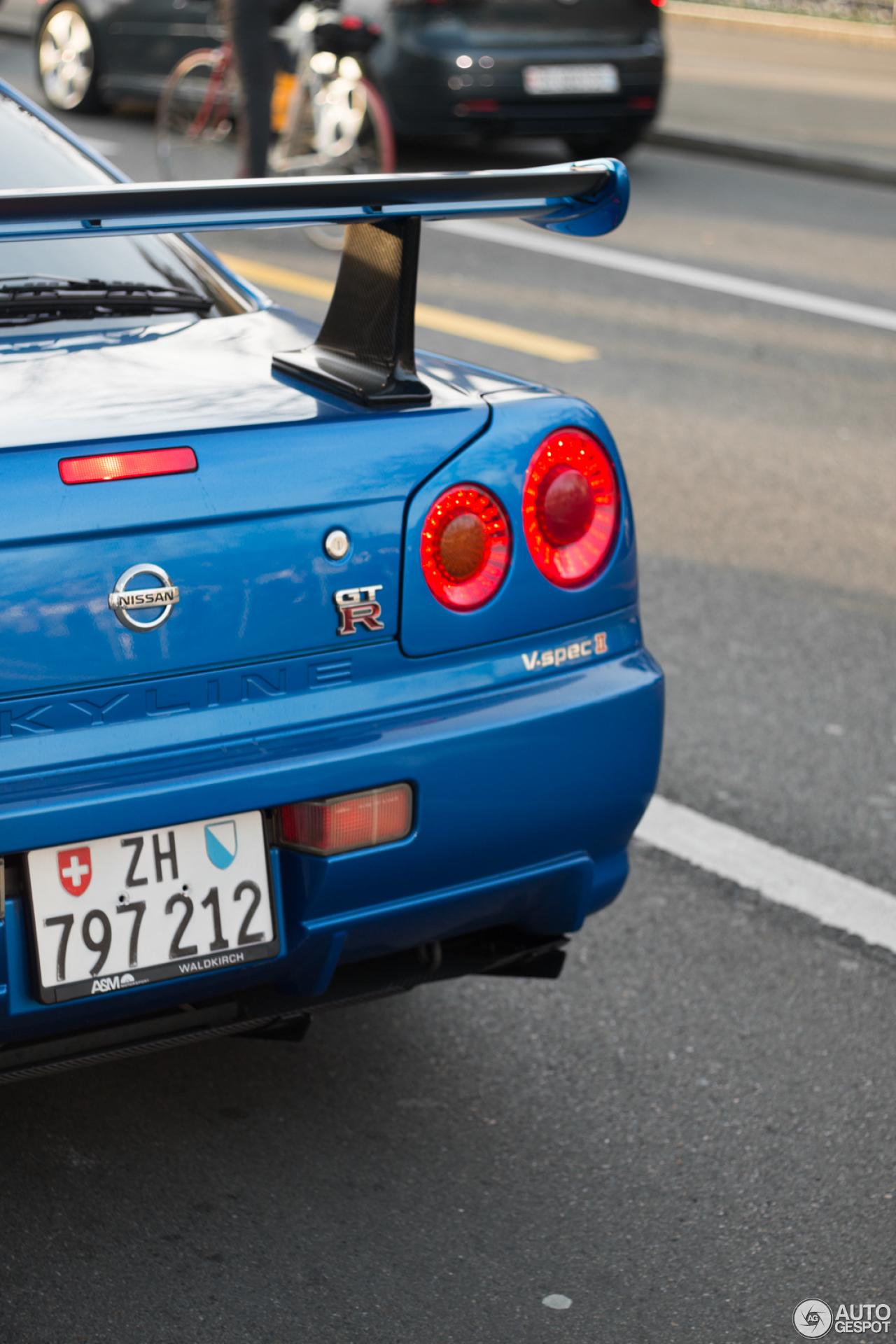 Skyline Gtr R34 For Sale >> Nissan Skyline R34 GT-R V-Spec II - 8 February 2016 - Autogespot