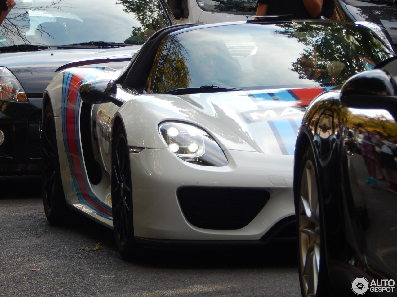 Porsche 918 Spyder Weissach Package 5