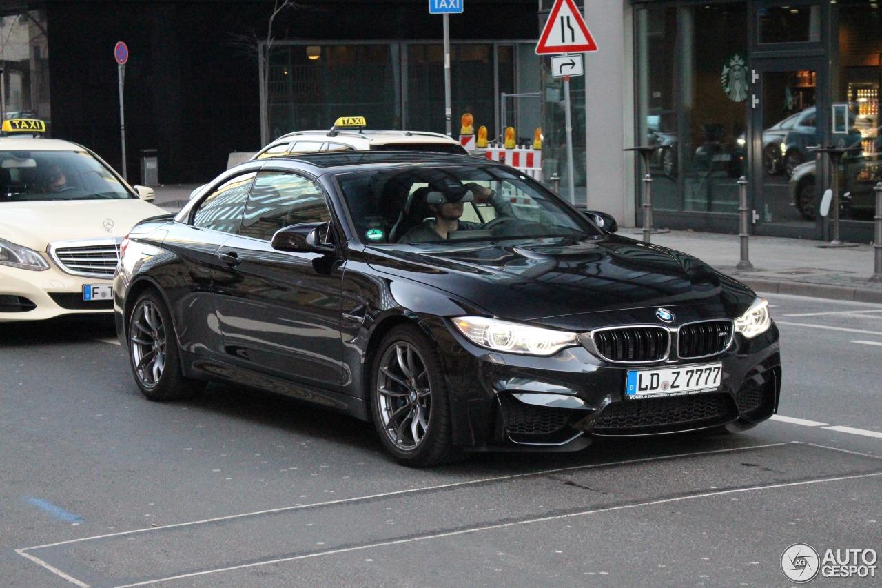 BMW M4 F83 Convertible 1