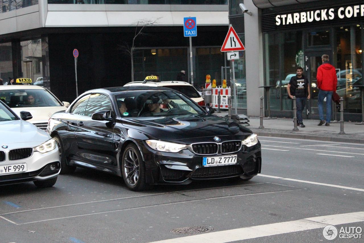 BMW M4 F83 Convertible 3
