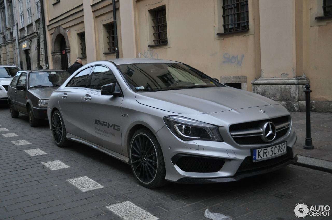 Mercedes benz cla 45 amg c117 9 february 2016 autogespot for Mercedes benz cla 250 amg price