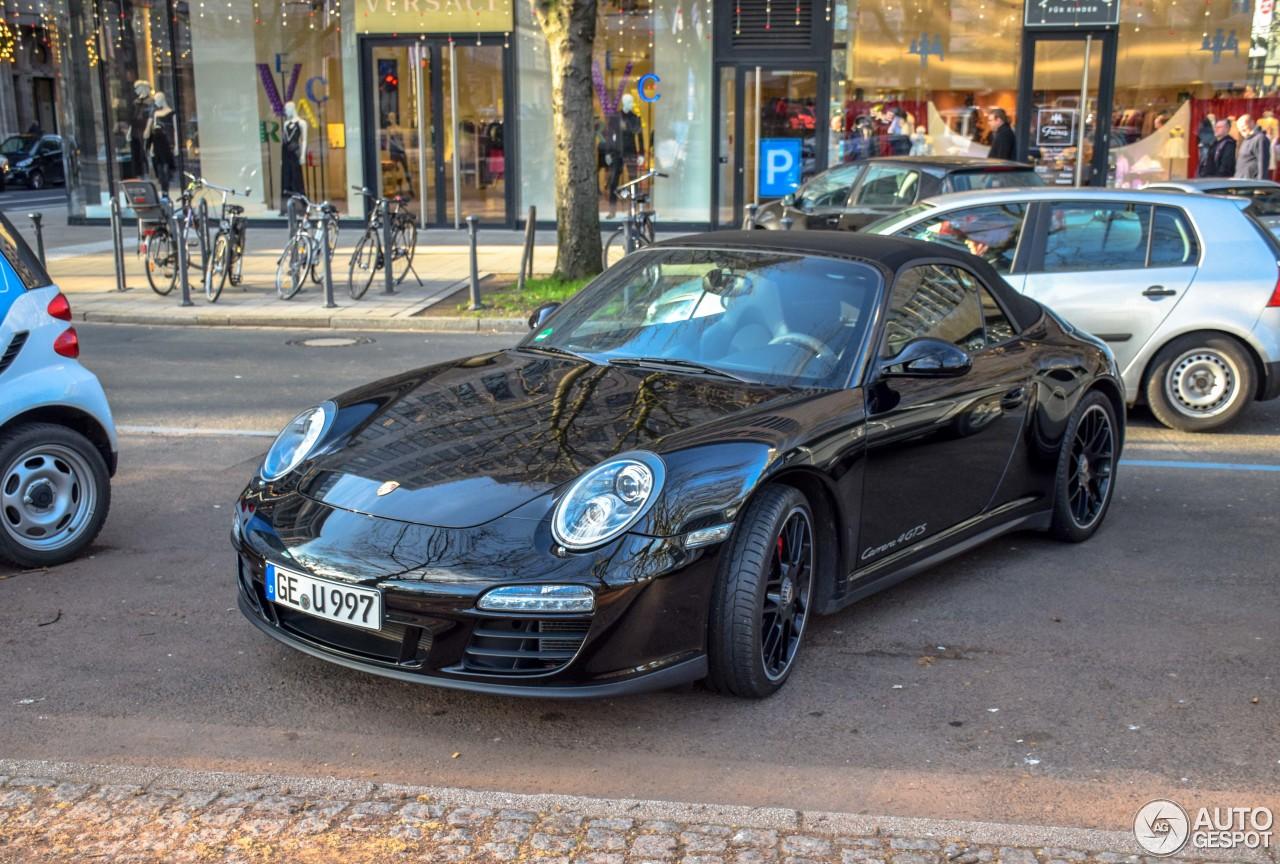 Porsche 997 Carrera 4 GTS Cabriolet 4