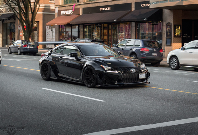 Lexus RC F Rocket Bunny Wide-Body