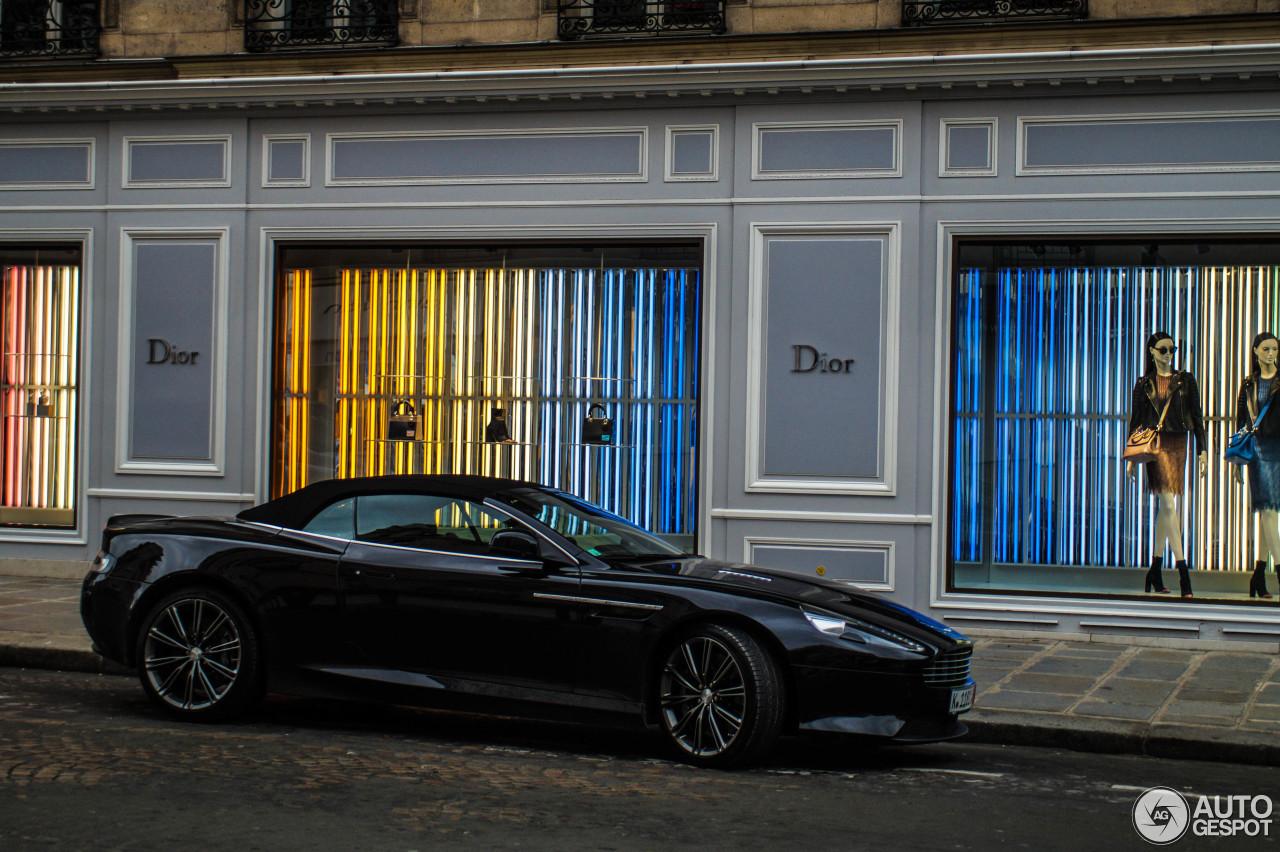 Aston Martin DB9 Volante 2013 1