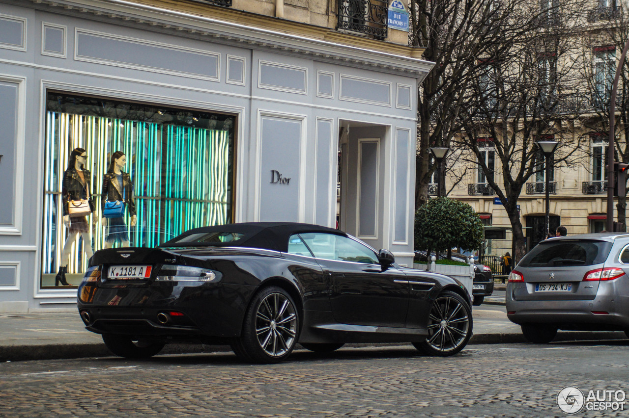 Aston Martin DB9 Volante 2013 3