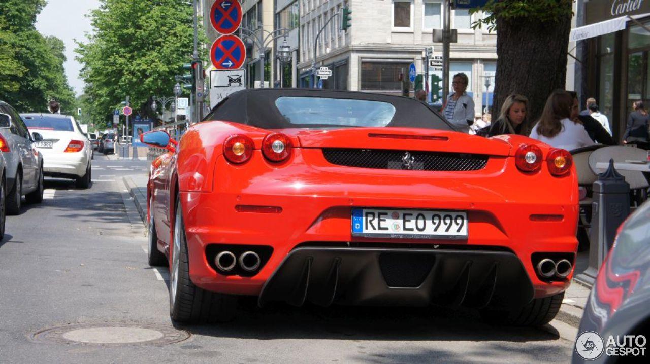 Ferrari F430 Spider 8