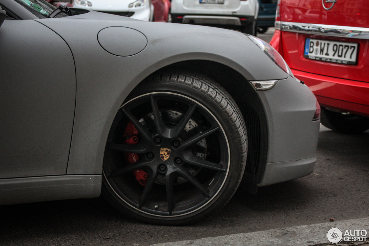 Porsche 991 Carrera S Cabriolet 5