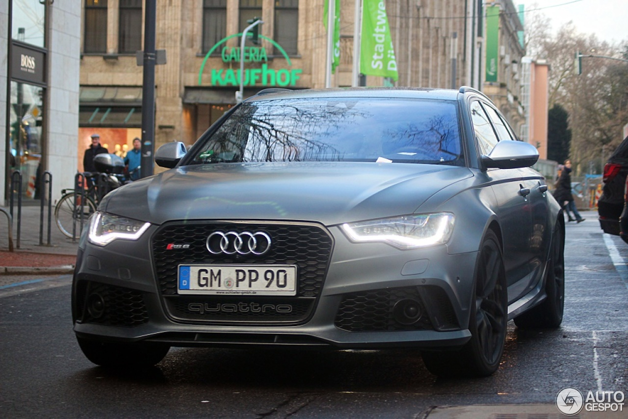 Audi RS6 Avant C7 6