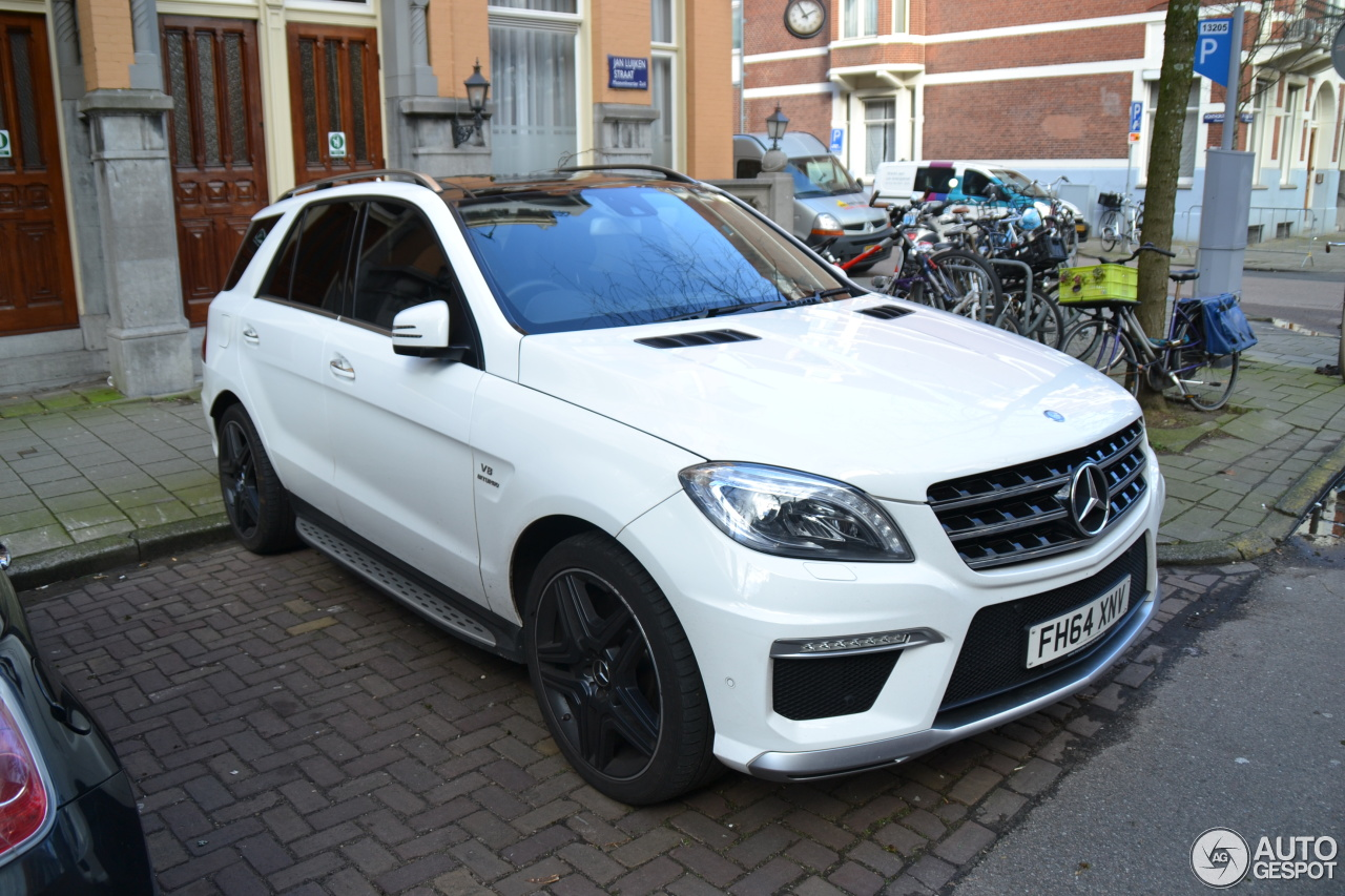 mercedes benz ml 63 amg w166 11 february 2016 autogespot. Black Bedroom Furniture Sets. Home Design Ideas