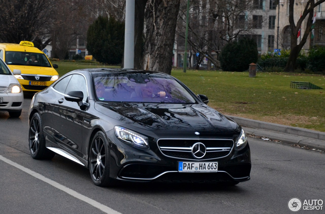 Mercedes benz s 63 amg coup c217 11 februar 2016 for Mercedes benz of maryland