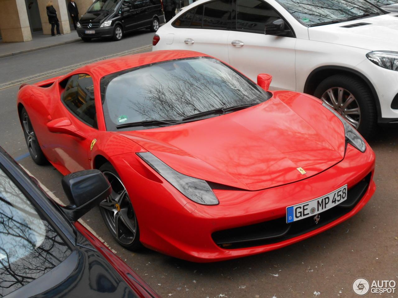 Ferrari 458 Italia 8