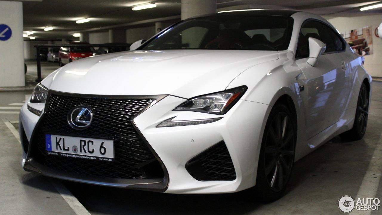 Lexus RC F 3