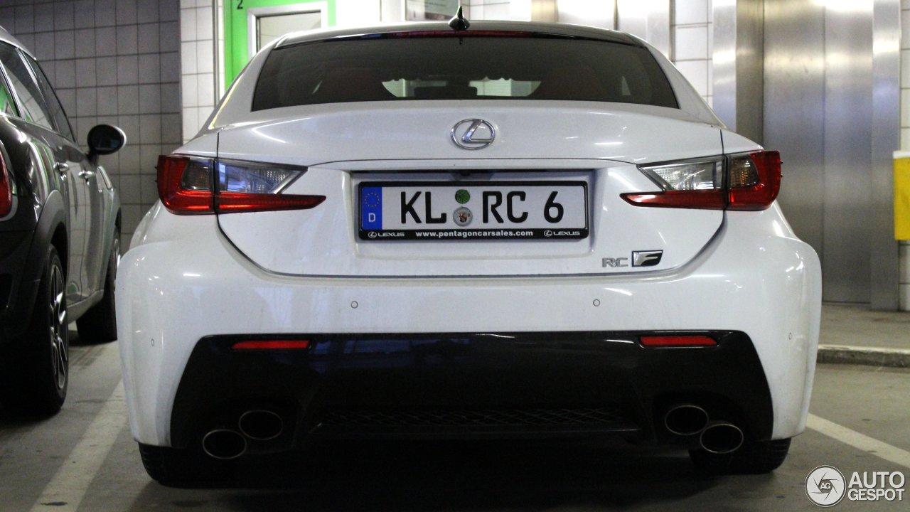 Lexus RC F 5