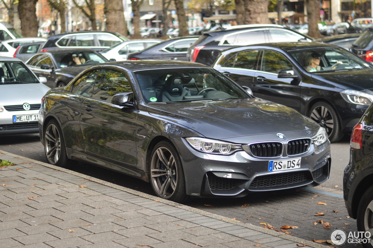 BMW M4 F83 Convertible 8