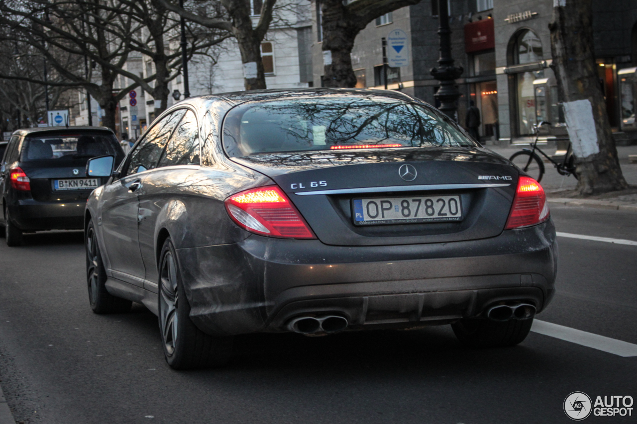 Mercedes-Benz CL 65 AMG C216 1