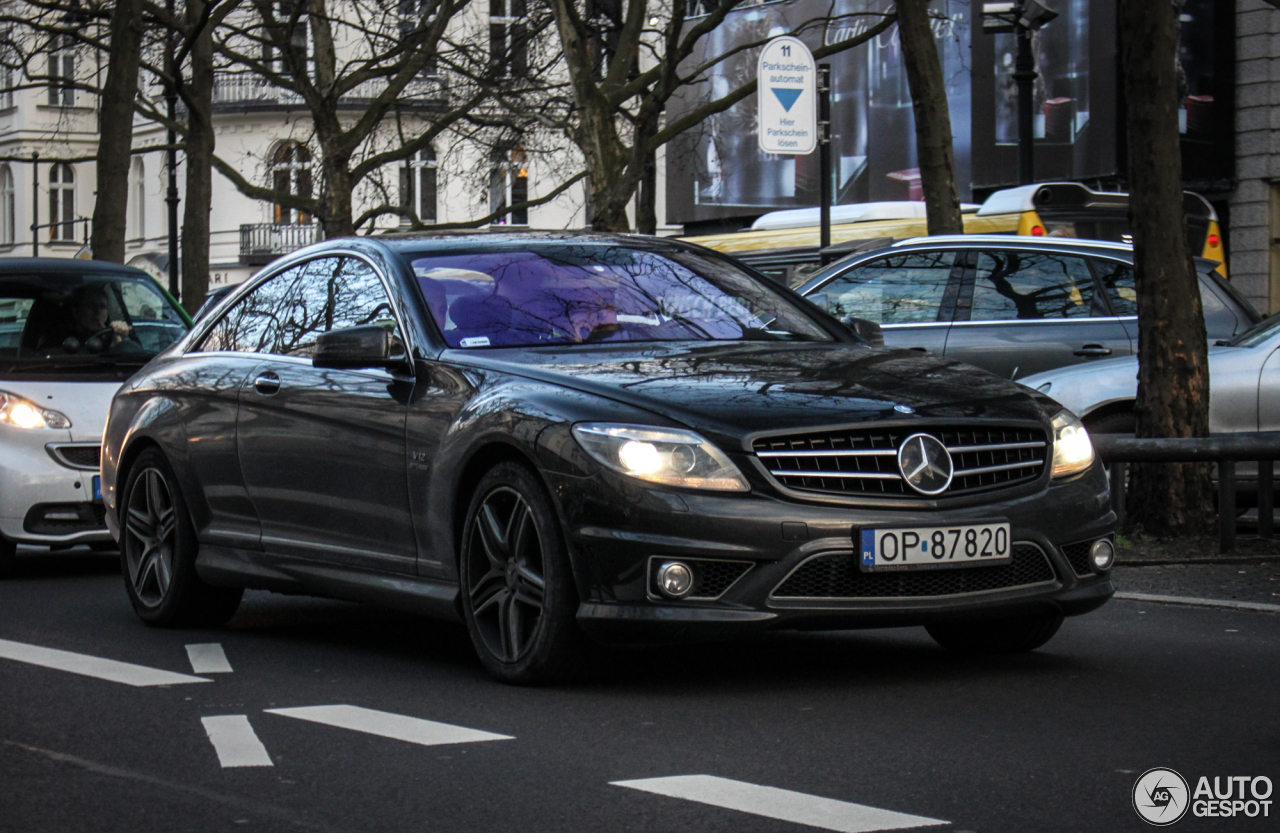 mercedes benz cl 65 amg c216 13 february 2016 autogespot. Black Bedroom Furniture Sets. Home Design Ideas