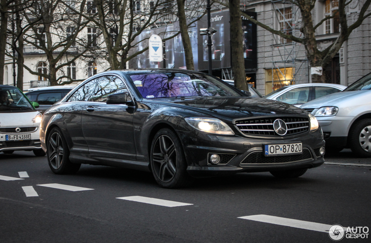 Mercedes-Benz CL 65 AMG C216 3