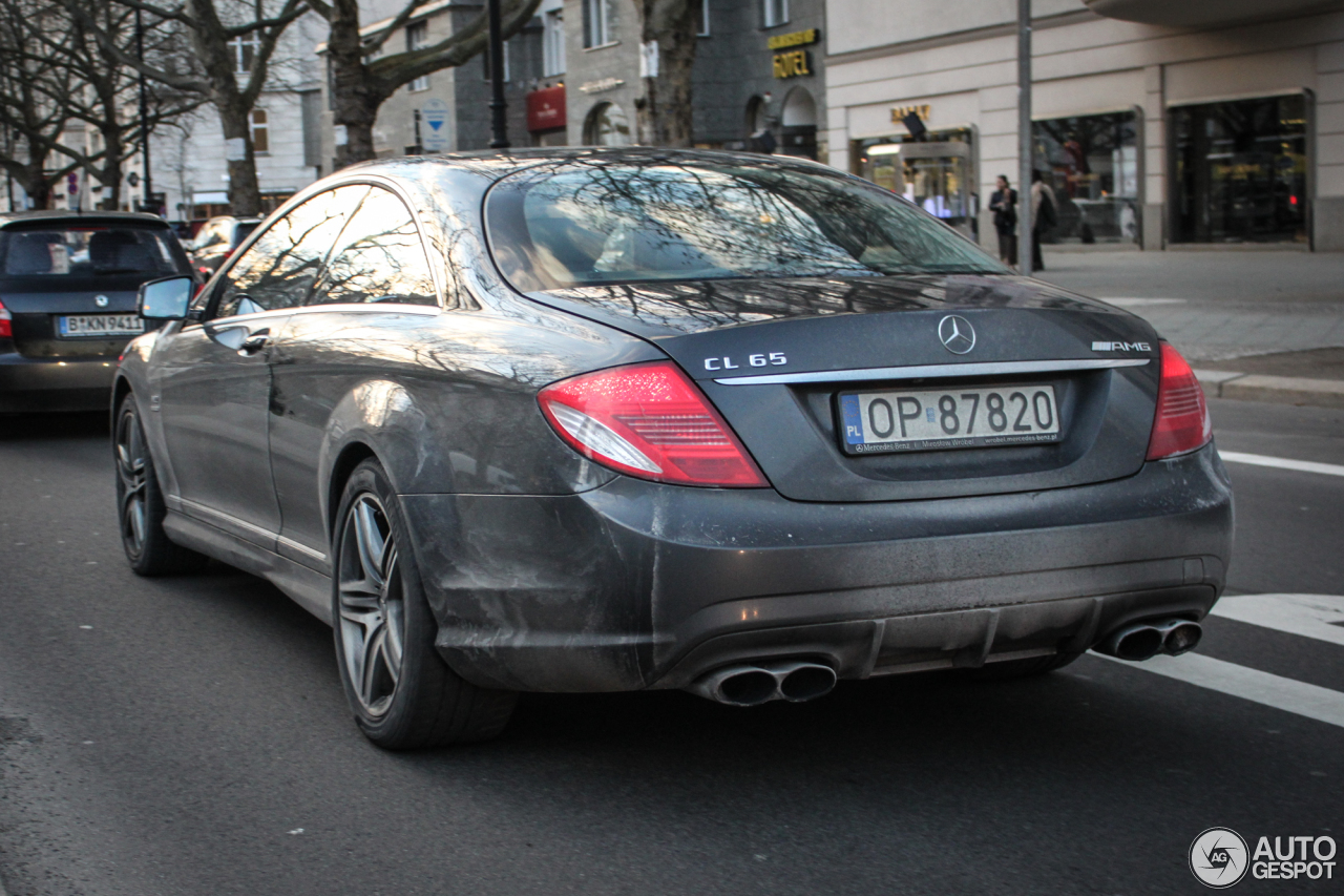 Mercedes-Benz CL 65 AMG C216 4