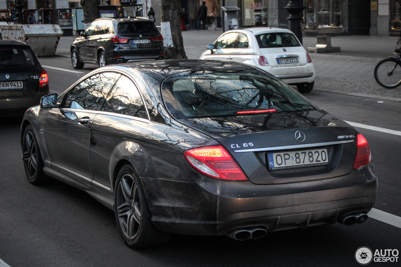 Mercedes-Benz CL 65 AMG C216 5