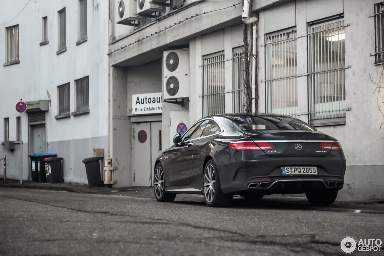 Mercedes-Benz S 63 AMG Coupé C217 6