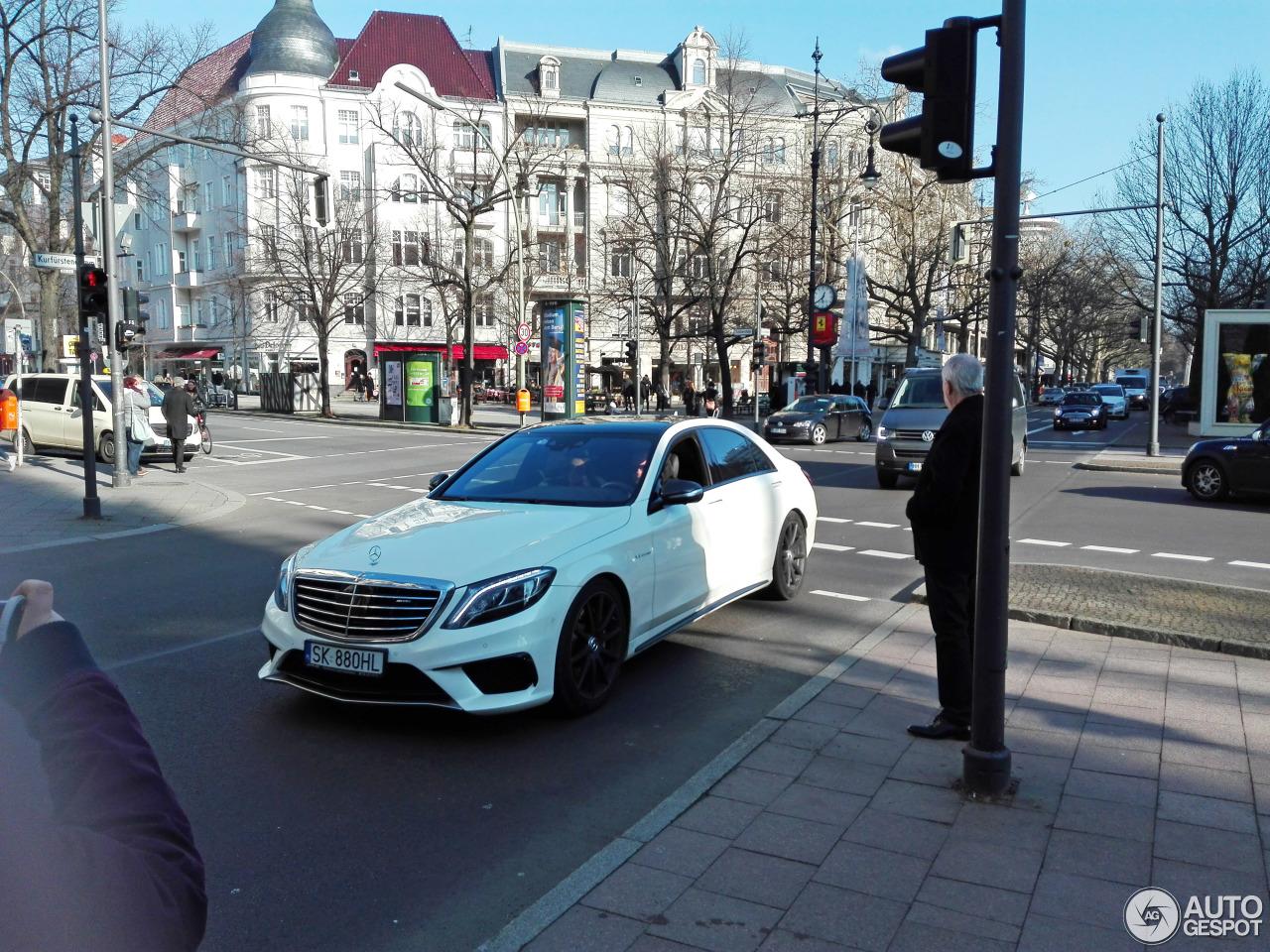 Mercedes-Benz S 63 AMG V222 1