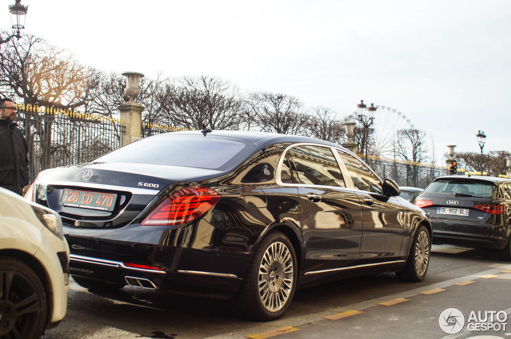 Mercedes maybach s600 13 february 2016 autogespot for 2008 mercedes benz s600 for sale